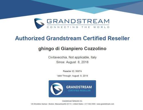 Rivenditore certificato Grandstream